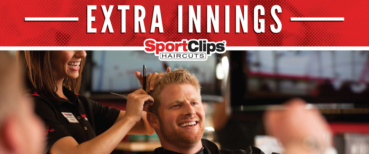 The Sport Clips Haircuts of Savannah  Extra Innings Offerings